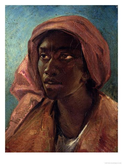 A Young Negro Woman-Th?odore G?ricault-Giclee Print