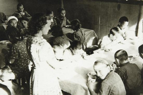 A Young Pioneers Camp Canteen, USSR, 1930S--Giclee Print
