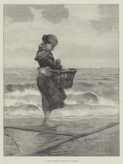 A Young Shrimper-Hector Caffieri-Giclee Print