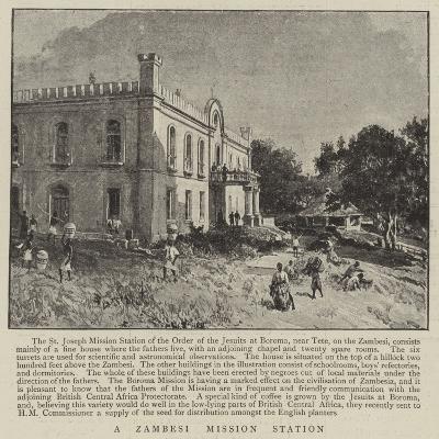 A Zambesi Mission Station--Giclee Print