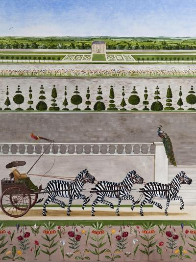 A Zeal of Zebras-Rebecca Campbell-Giclee Print