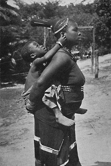 A Zulu woman and child, 1902-Unknown-Photographic Print