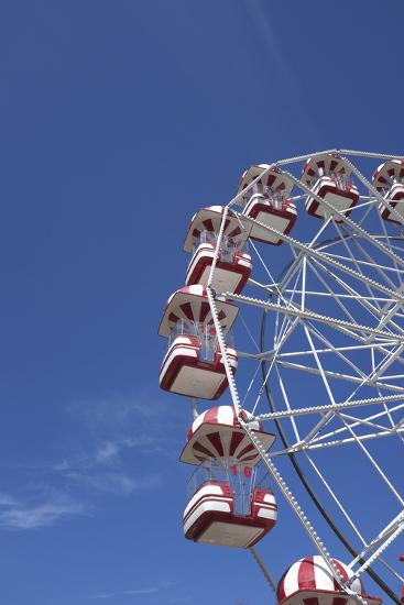 Aarhus, Tivoli Friheden, big wheel,-Gianna Schade-Photographic Print