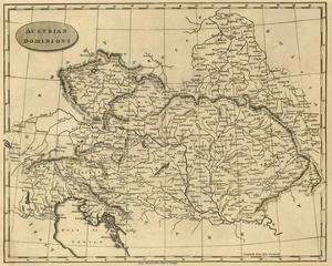 Austrian Dominions, c.1812 by Aaron Arrowsmith