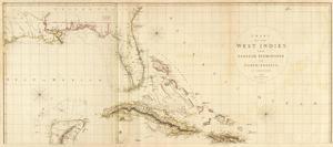 West Indies I, c.1810 by Aaron Arrowsmith