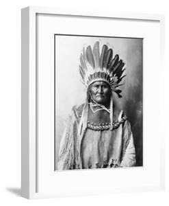 Geronimo (1829-1909) by Aaron Canady