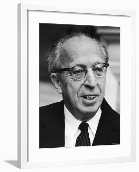 Aaron Copland--Framed Premium Photographic Print