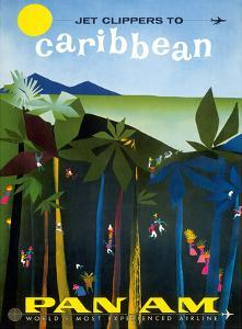 Jet Clippers to Caribbean - Pan American World Airways by Aaron Fine
