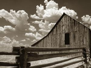 Fence and Barn by Aaron Horowitz