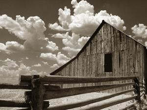 Fence and Barn by Aaron Horowitz