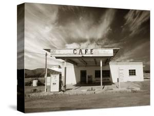 Gas Station and Cafe by Aaron Horowitz