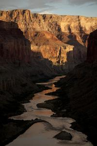 The Colorado River from the Ancient Ruins at Nankoweap Canyon, Grand Canyon Np by Aaron Huey