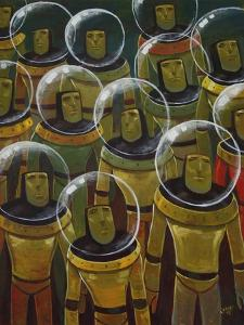 Brave Explorers of Yesteryear by Aaron Jasinski
