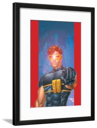 Ultimate X-Men No.1/2 Cover: Cyclops