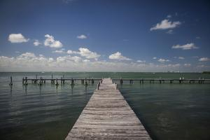 Quiet Pier by Aaron Matheson