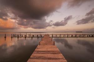Sunset Pier II by Aaron Matheson
