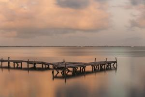 Sunset Pier III by Aaron Matheson