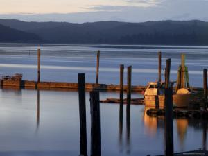 Crab Pots on Deck, Grayland Dock, Grays Harbor County, Washington State, United States of America by Aaron McCoy