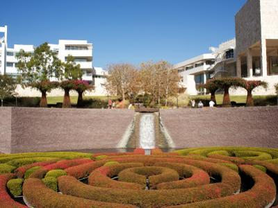 Gardens at Getty Museum by Aaron McCoy