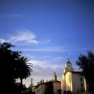Santa Barbara Mission Founded in 1786, Santa Barbara, California by Aaron McCoy