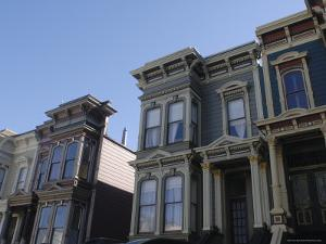 Victorian Homes, Haight District, San Francisco, California, USA by Aaron McCoy