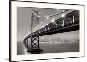 Bay Bridge at Night by Aaron Reed