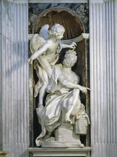 Abacuc and the Angel-Giovanni Lorenzo Bernini-Giclee Print