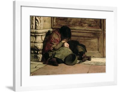 Abandoned, 1903-Luigi Nono-Framed Giclee Print