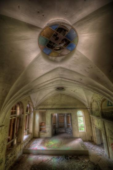 Abandoned Building Interior-Nathan Wright-Photographic Print