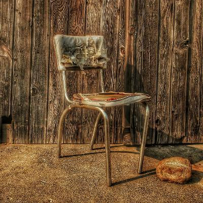 Abandoned Chair-Florian Raymann-Photographic Print