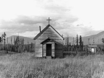 Abandoned Church-Dorothea Lange-Photographic Print