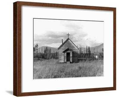 Abandoned Church-Dorothea Lange-Framed Photographic Print