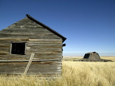 Abandoned Farmstead in Southern Alberta-Pete Ryan-Photographic Print