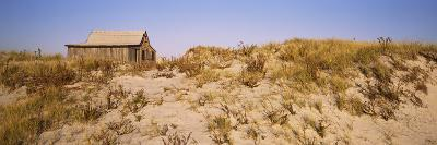 Abandoned Fishing Shack in a Desert, Island Beach State Park, Ocean County, New Jersey, USA--Photographic Print