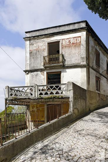 Abandoned House, Old, Rundown, Sintra, Unesco-World Cultural Heritage, Lisbon, Portugal-Axel Schmies-Photographic Print