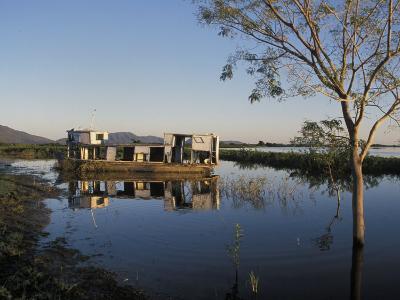 Abandoned Houseboat in the Pantanal of Western Brazil-Scott Warren-Photographic Print