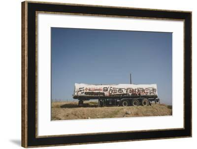 Abandoned Lorry-Clive Nolan-Framed Photographic Print
