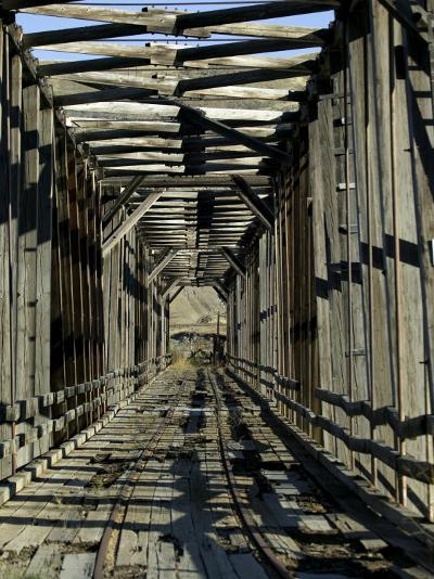 Abandoned Railroad Bridge-Pete Ryan-Photographic Print