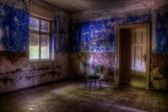 Abandoned Room Interior-Nathan Wright-Photographic Print