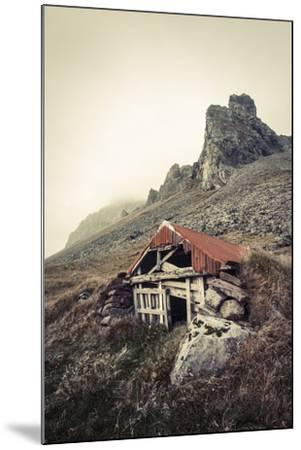 Abandoned Shelter Near Stokkness, Iceland, September 2015-Niall Benvie-Mounted Photographic Print