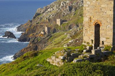 Abandoned Tin Mine Near Botallack-Miles Ertman-Photographic Print