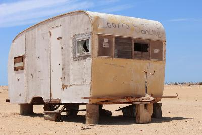 Abandoned Trailer in the Desert-Charles Harker-Photographic Print
