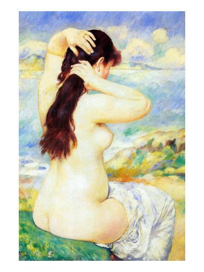 Abather-Pierre-Auguste Renoir-Art Print