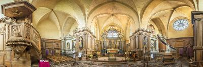 Abbaye de Paimpont-Philippe Manguin-Photographic Print