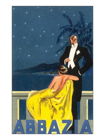 Abbazia, Sophisticated Couple--Art Print