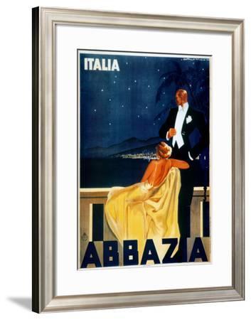 Abbazia-W. Zalina-Framed Art Print