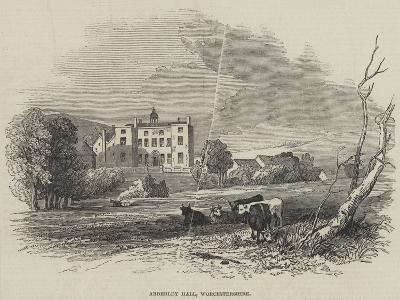 Abberley Hall, Worcestershire--Giclee Print