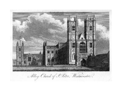 Abbey Church of St Peter, Westminster, London, 1805--Giclee Print