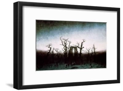 Abbey in the Oakwood by Casper David Friedrich 230gsm photo quality paper choose