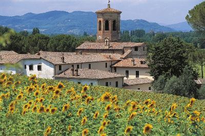 Abbey of San Salvatore Di Montecorona (Monte Acuto), 11th-12th Century, Umbertide, Umbria, Italy--Photographic Print